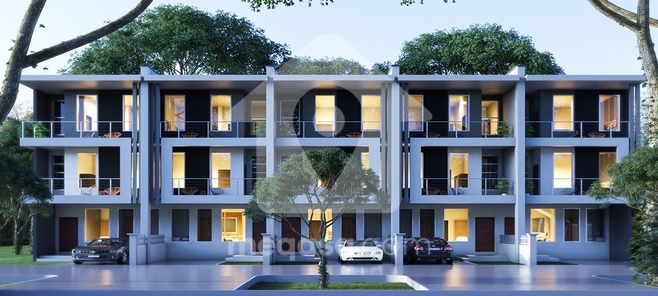 3 Bedroom Townhouses for sale behind Trade Fair