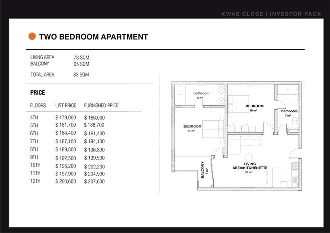 2 Bedroom Kwae Close Apartments for Sale (Dzorwulu) Photo