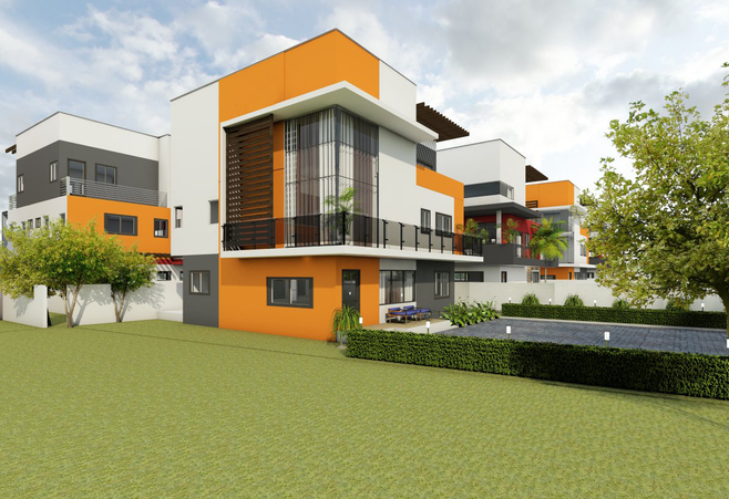 4 bedroom town house for sale in East Legon
