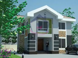 4 bedroom detached house for sale at Ashongman, Ghana