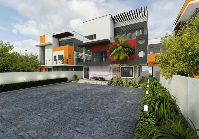 4 Bedroom Town House For Sale in East Legon Photo