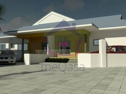 3 bedroom semi-detached house for sale at Teshie, Ghana