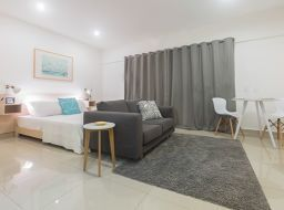 1 bedroom furnished studio apartment for rent at Shiashie