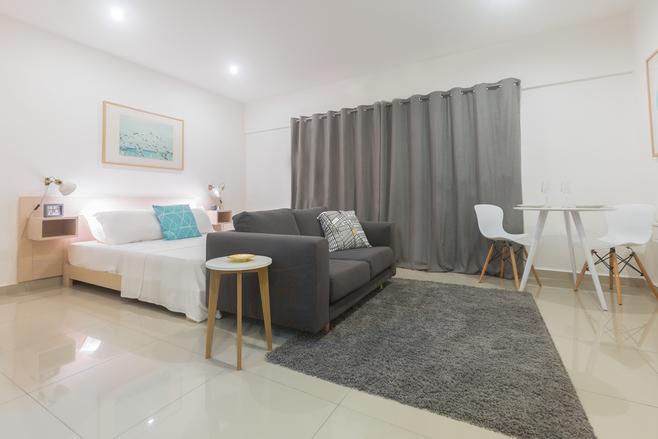 1 Bedroom Furnished Studio Apartment For Rent At Shiashie